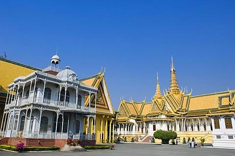 Pavilion of Napoleon III, Throne Hall, Royal Palace, Phnom Penh, Cambodia, Indochina, Southeast Asia, Asia