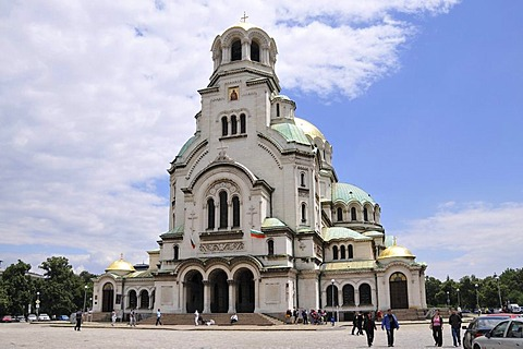 Alexander Nevsky Cathedral, Sofia, Bulgaria, Europe