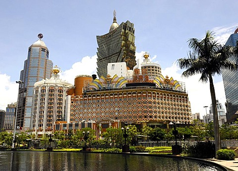 Hotel and Casino Lisboa in Macau, China, Asia