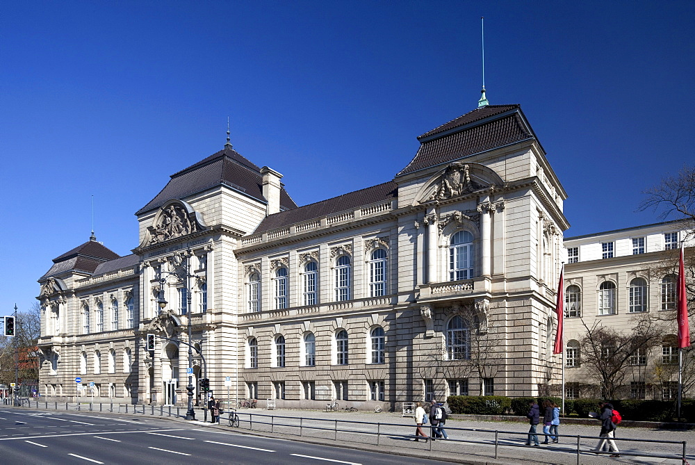 Main building of the University of the Arts, UdK, Charlottenburg, Berlin, Germany, Europe