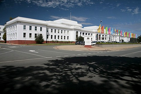 The old Parliament House in Canberra, Australian Capital Territory, Australia
