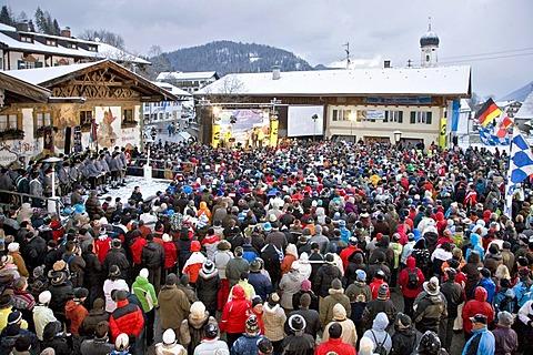 Spectators, crowd, enjoying the sport