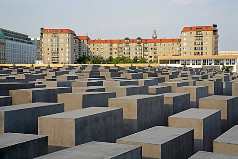 Memorial to the Murdered Jews of Europe or the Holocaust Memorial, Berlin, Germany, Europe