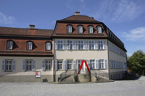 Schloss Solitude Academy, Stuttgart-West, Stuttgart, Upper Swabia, Baden-Wuerttemberg, Germany, Europe