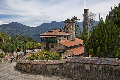 Santuario Monte Monserrate Restaurant, Bogota, Colombia, South America