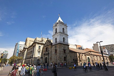 Iglesia de San Francisco church, Bogota, Colombia, South America