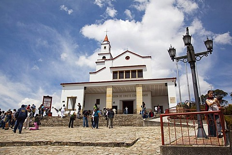 Monserrate church, Iglesia de Monserrate, Bogota, Colombia, South America