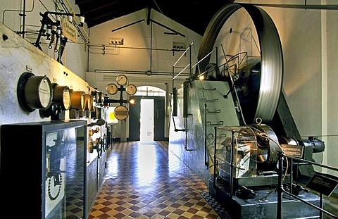 Hydro power museum, Ziegenrueck, Thuringia, Germany, Europe