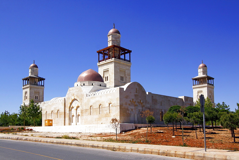 King Hussein Mosque, Amman, Jordan's capital, Hashemite Kingdom of Jordan, Middle East, Asia