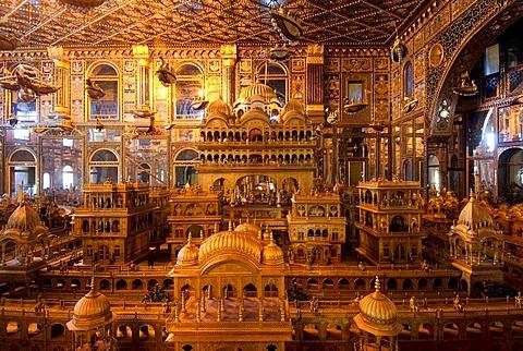 Jain Temple, Ajmer, Rajasthan, India, Asia
