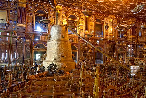 Jain temple universe, Ajmer, Rajasthan, India, Asia