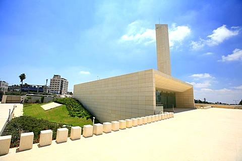 Mausoleum of Yasser Arafat, Ramallah, West Bank, Palestine, Middle East