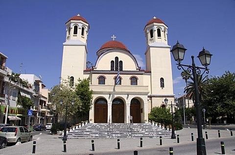 Church of the four martyrs, Rethymnon, Rethymno, Crete, Greece, Europe