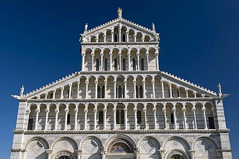 Duomo, Cathedral of Santa Maria Assunta, UNESCO World Heritage Site, Pisa, Tuscany, Italy, Europe