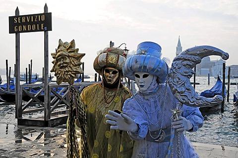 Masks, carnevale, carnival, Venice, Veneto, Italy, Europe