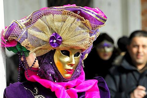 Mask, carnevale, carnival, Venice, Veneto, Italy, Europe