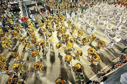 Samba school Mocidade Independente de Padre Miguel, Carnaval 2010 Sambodromo, Rio de Janeiro, Brazil, South America - 832-159127