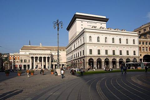 Piazza Raffaele Ferrari, Genova, Genoa, Liguria, Italy, Europe, PublicGround