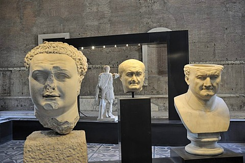 Exhibition on the Flavian imperial family in the Curia in the Roman Forum, Rome, Italy, Europe