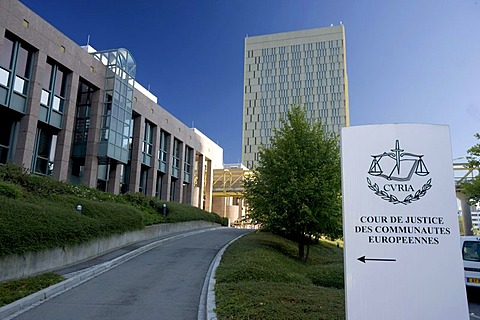 European Court of Justice, Kirchberg-plateau, Europe District, Luxembourg, Europe