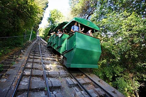 Cog railway, Santiago de Chile, Chile, South America