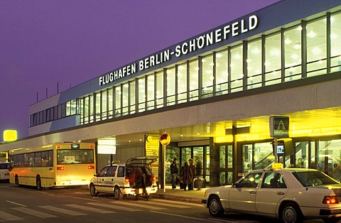Berlin-Schoenefeld Airport, SXF, Schoenefeld, Berlin, Germany, Europe