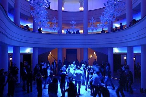 Dancing and partying in the Goya, nightclub, former luxury nightclub with restaurant on Nollendorfplatz, Schoeneberg district, Berlin, Germany, Europe
