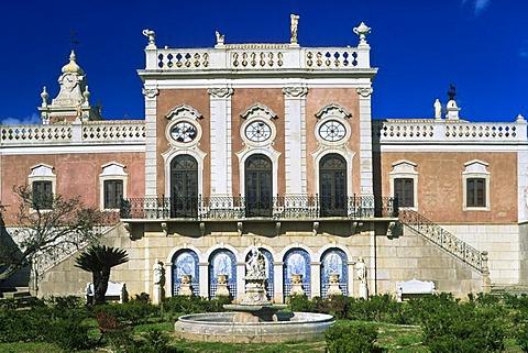 Palacio de Estoi, Estoi, Algarve, Portugal, Europe