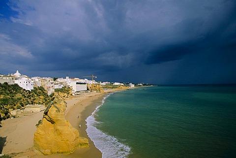 Beach, Albufeira, Algarve, Portugal, Europe