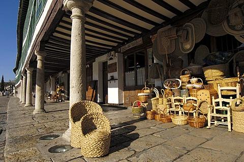 Main Square dating from 13th century, Almagro, Ciudad Real province, Castilla-La Mancha, Spain, Europe