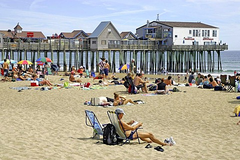 Old Orchard Beach, Maine, New England, USA