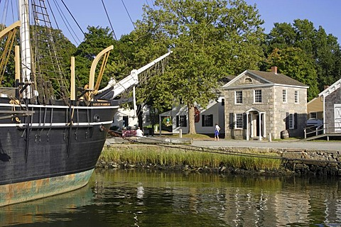 Historic Mystic Seaport Museum, Connecticut, New England, USA