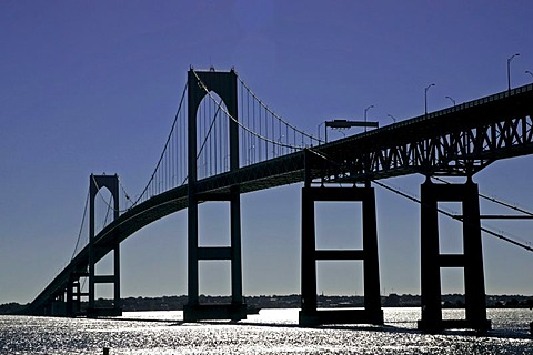 Newport - Jamestown Bridge, Rhode Island, New England, USA