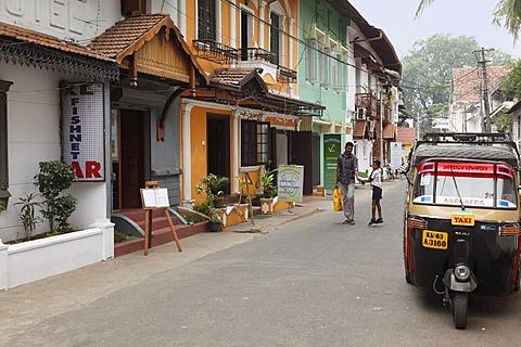 Rose Street, Kochi, Fort Cochin, Kerala, South India, South Asia