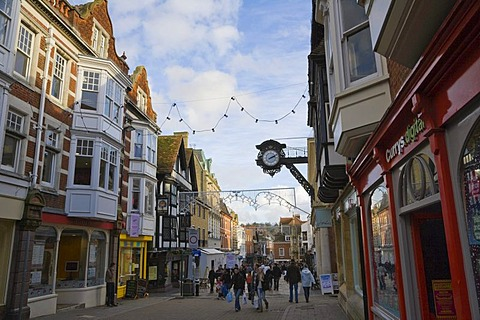 High Street, Winchester, Hampshire, England, United Kingdom, Europe