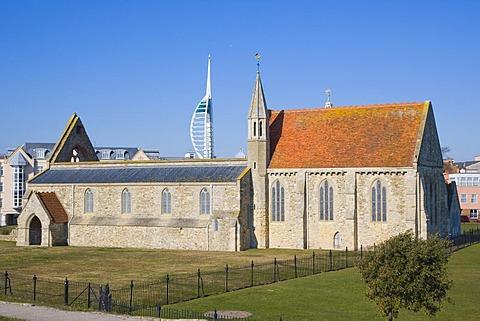 Royal Garrison Church, Domus Dei, Hospital of Saint Nicholas, Old Portsmouth, Hampshire, England, United Kingdom, Europe