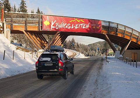 Koenigsleiten, Transparent, Zillertal Arena winter sports area, Tyrol, Austria, Europe