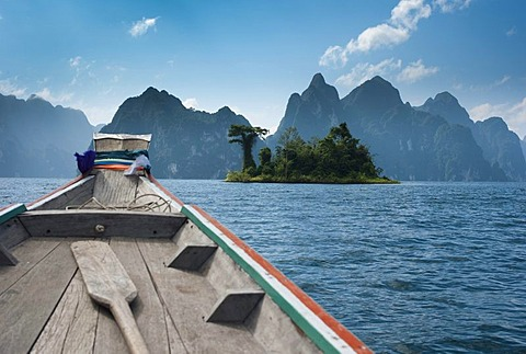 Khao Sok National Park, man-made reservoir, Chiao Lan Lake, Surat Thani, Thailand, Asia