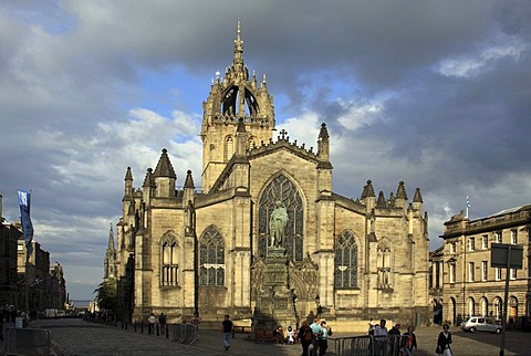 St Giles Cathedral, Edinburgh, Scotland, United Kingdom, Europe