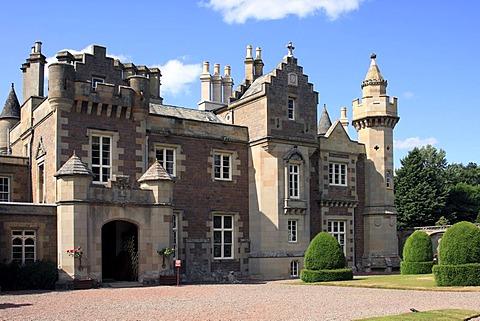 Abbotsford House, home of Sir Walter Scott, Scottish Borders, Scotland, United Kingdom, Europe