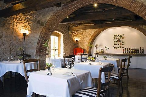 Il Fiore del Tesoro Restaurant, Hotel Villa il Tesoro, Massa Marittima-Valpiana, Tuscany, Italy, Europe