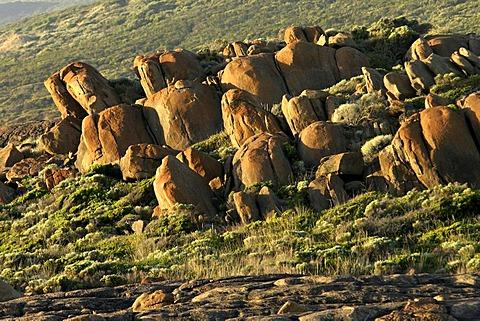Granite stone formations, Augusta, Southwest Australia