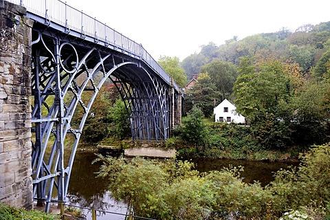 Iron Bridge, Ironbridge Gorge, England, United Kingdom, Europe