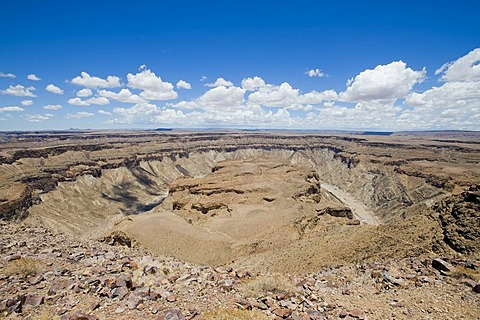 Fish River Canyon, the second largest canyon in the world, Namibia, Africa