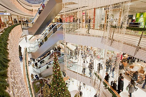 High quality stock photos of christmas tree in shopping mall for Einkaufszentrum stuttgart