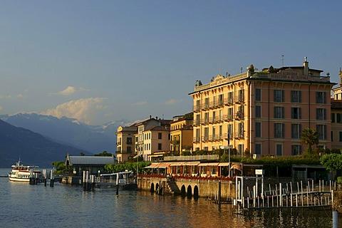 Lakeside in Bellagio, Italy, Europe