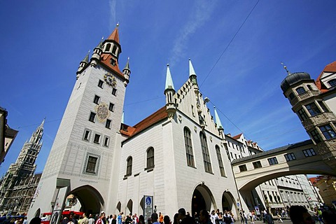 Old Town Hall, Munich, Bavaria, Germany, Europe
