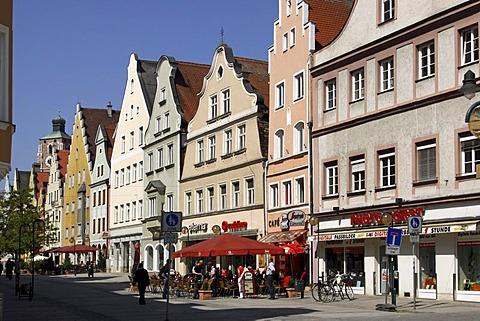 Theresienstrasse, Ingolstadt, Bavaria, Germany, Europe
