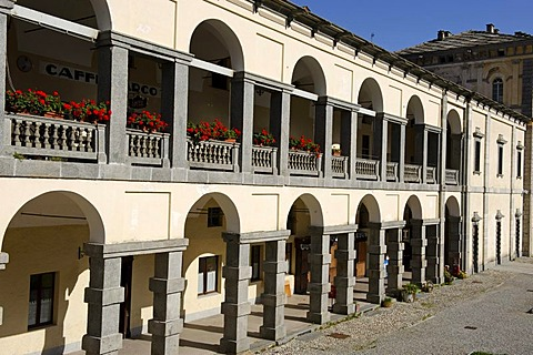 Sacro Monte di Oropa, Sacred Mount of Oropa, Marian pilgrimage site, province of Biella, Piedmont, Italy, Europe