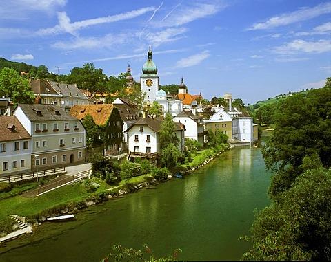 Waidhofen on Ybbs River, Lower Austria, Europe